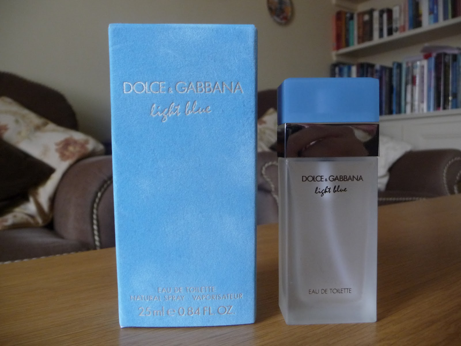 Nice Lately I Purchased Online A Designer Perfume Dolce And Gabbana Light Blue  Eau De Toilette Natural Spray 25ml Which Cost £32.00. Photo Gallery