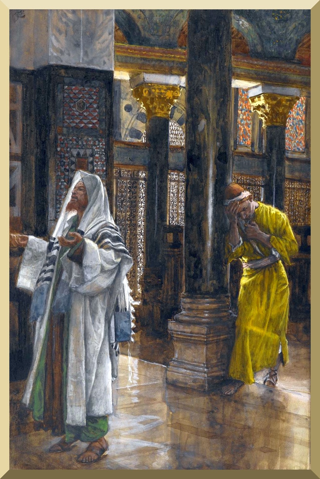 """The Pharisee and the Publican"" -- by James Tissot.jpg"