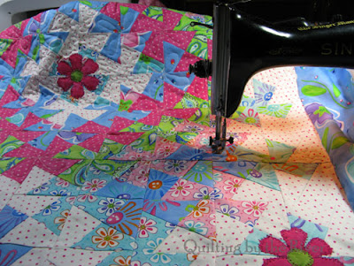 quilting on a 15-91 Singer