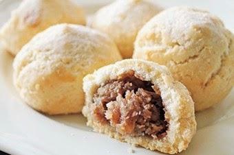 Hurmalı cevizli un kurabiyesi tarifi