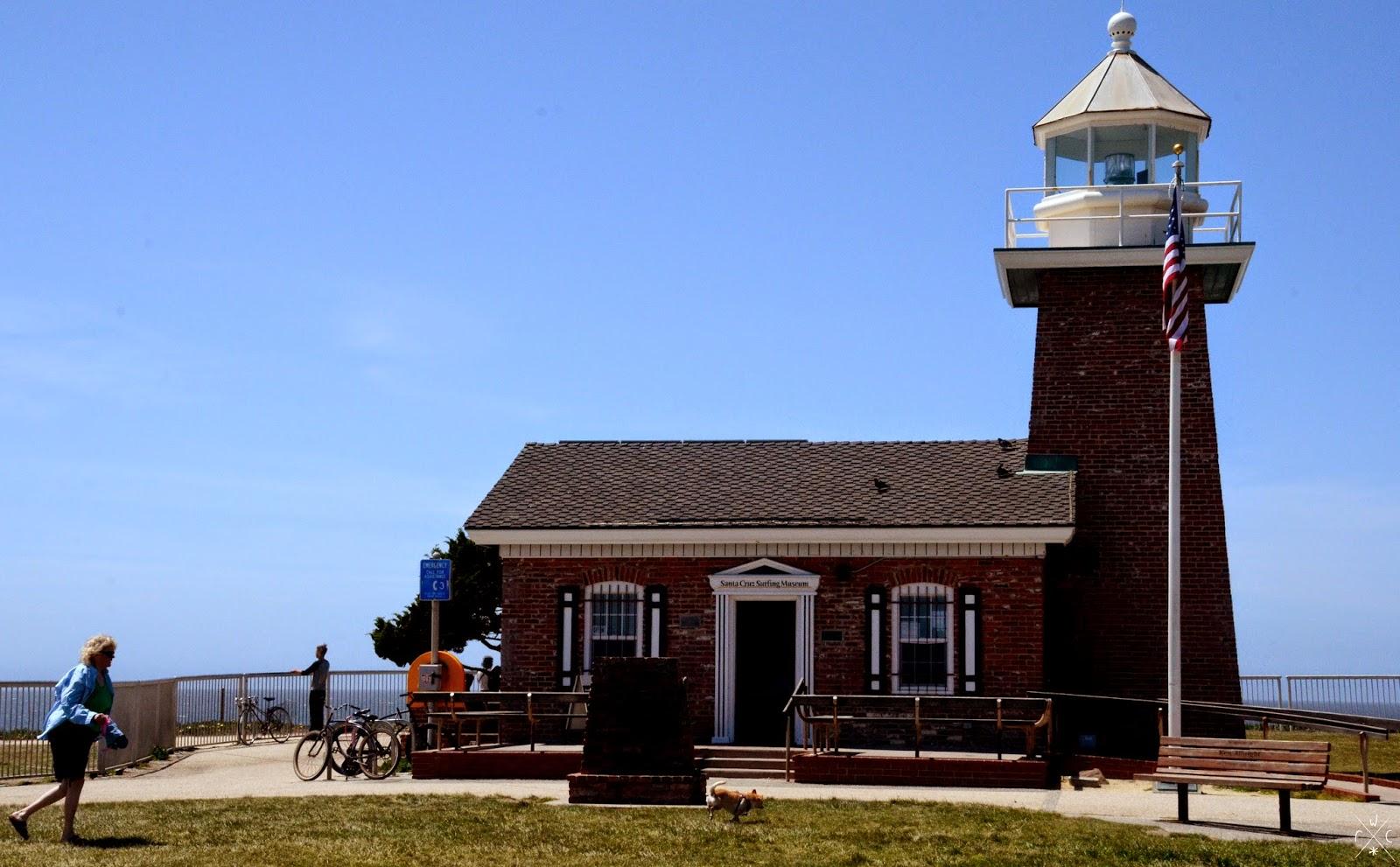 Santa Cruz Surfing Museum, Steamer Lane, Santa Cruz, Californie, USA