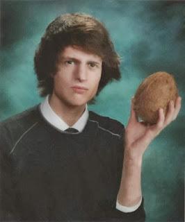 una foto con mi coco fruta epic fruit
