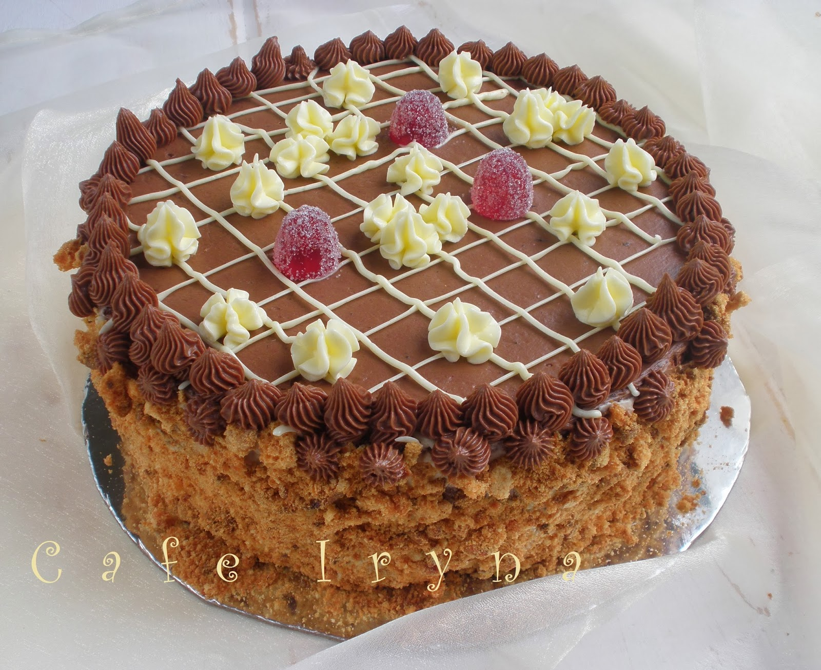 коронный киевский торт рецепт