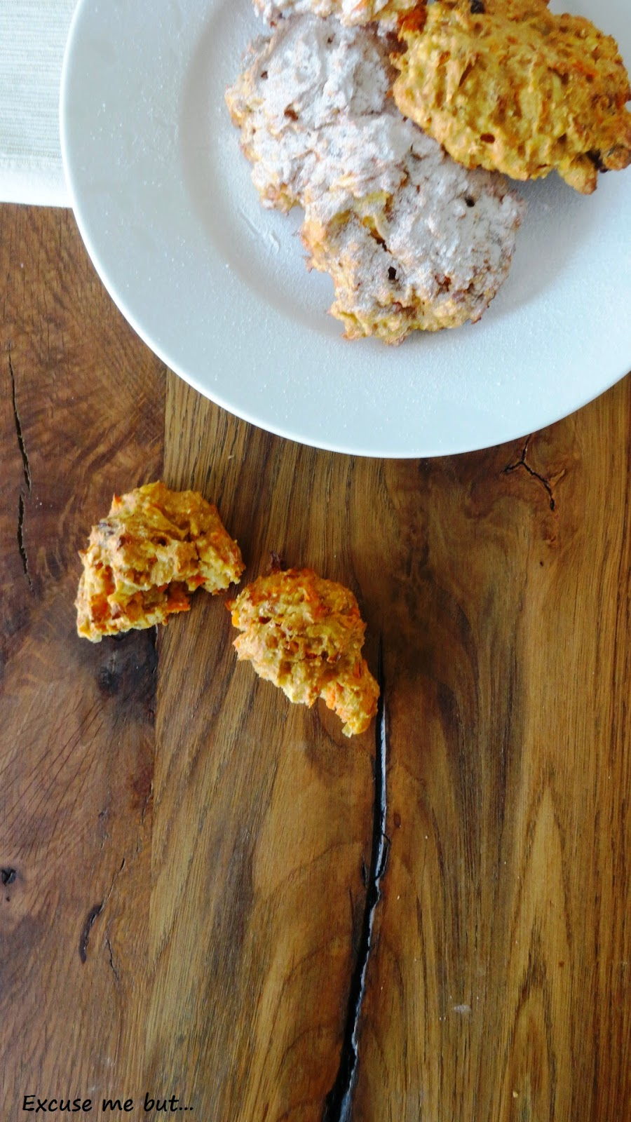Carott Cookies vegan and healthy