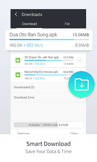 UC Browser v10.7.5 APK For Android Terbaru