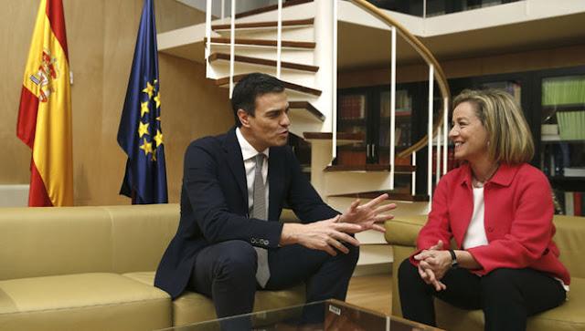Ana Oramas, Coalición Canaria, dice no a un gobierno con Podemos