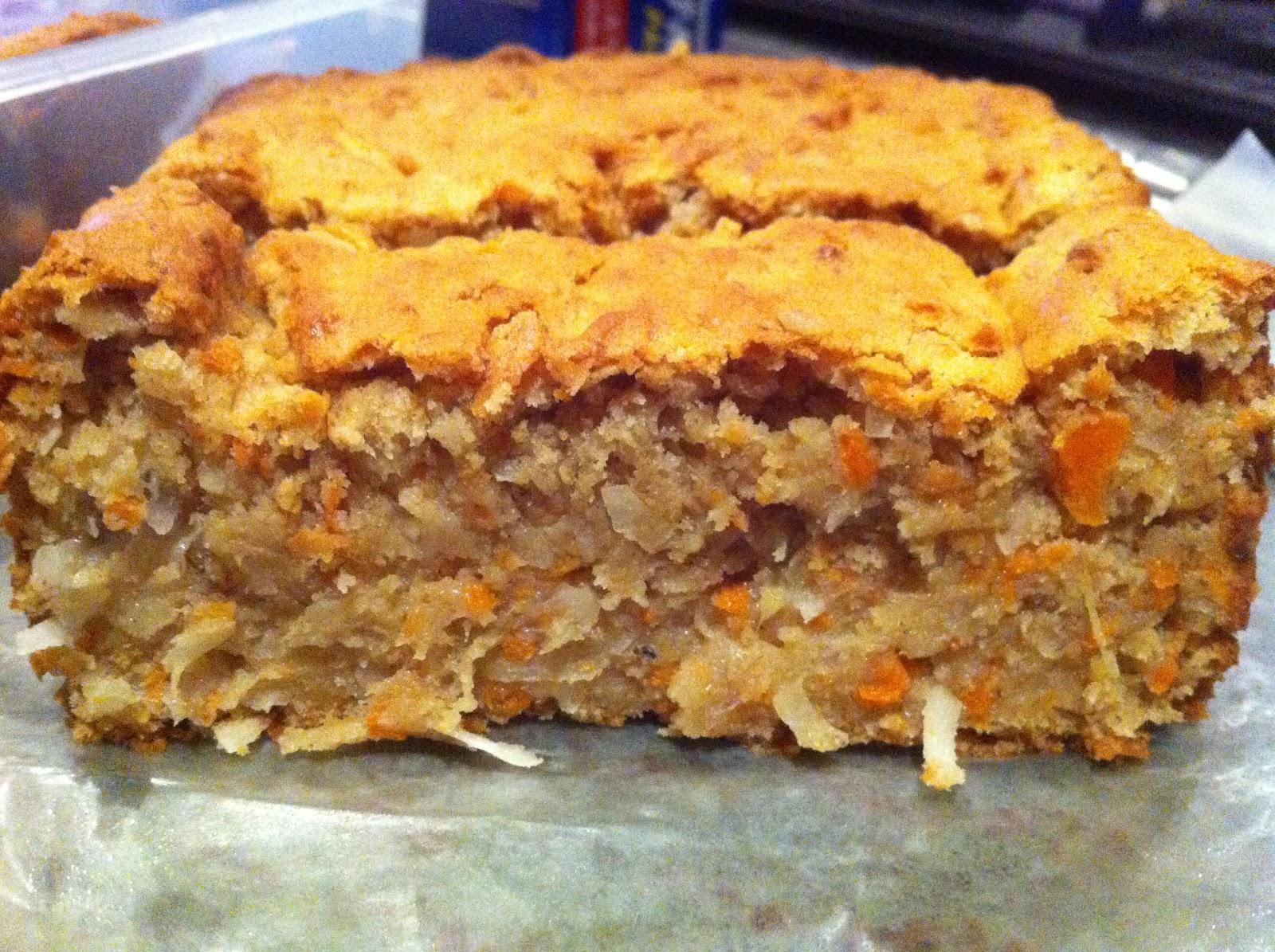 Gullo Goodies: Carrot Coconut Pineapple Bread