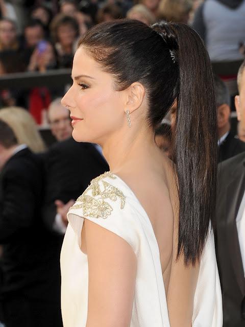 Cabelo Sandra Bullock Oscar 2012