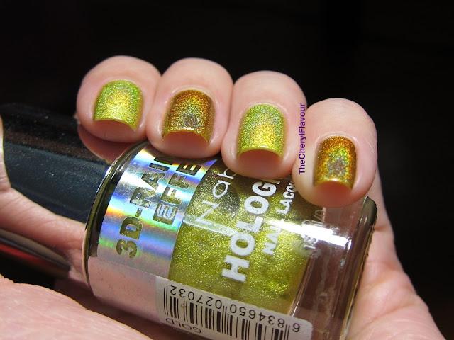 Nabi Holographic Gold vs Jade Mystic Gold