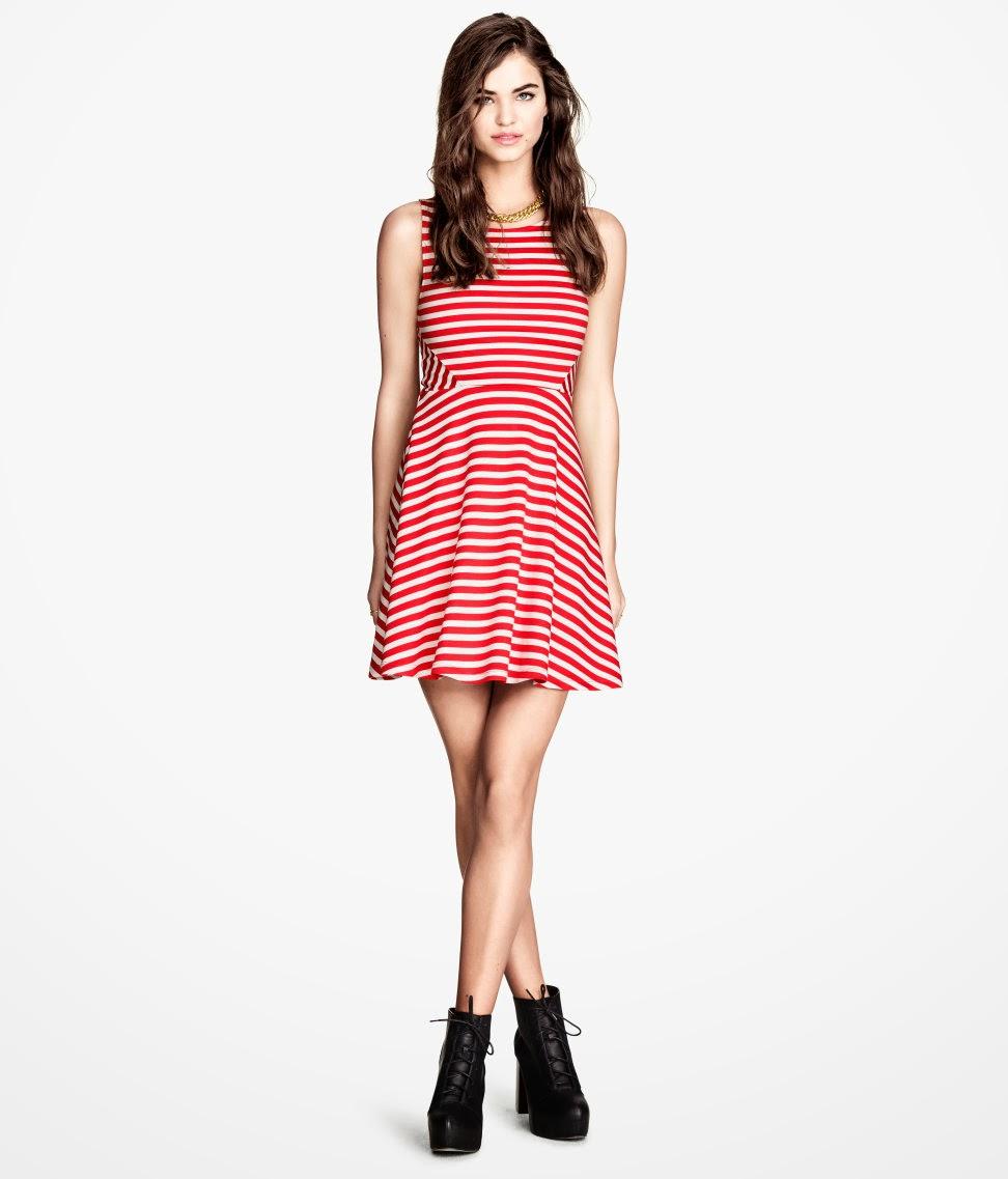 2014+%C3%A7izgili H & M 2014 Sommer Kleidung Models