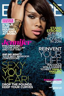 Magazine Cover : Jennifer Hudson Magazine Photoshoot Pics on Essence Magazine Mexico January 2014 Issue