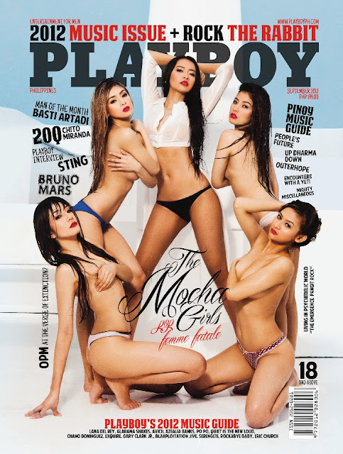 The Mocha Girls Cover Playboy Philippines September 2012 issue