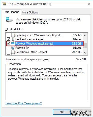 how to delete windows 10 c windows logs