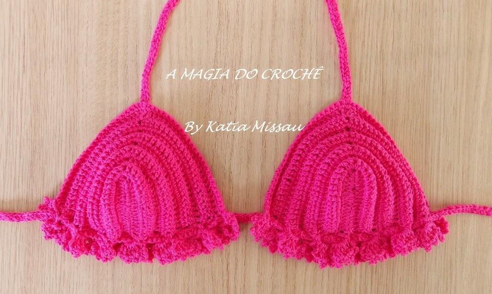 MAGIA DO CROCHÊ - Katia Missau: Biquínis de Crochê