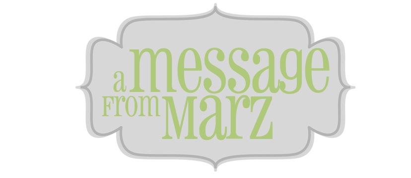A Message from Marz