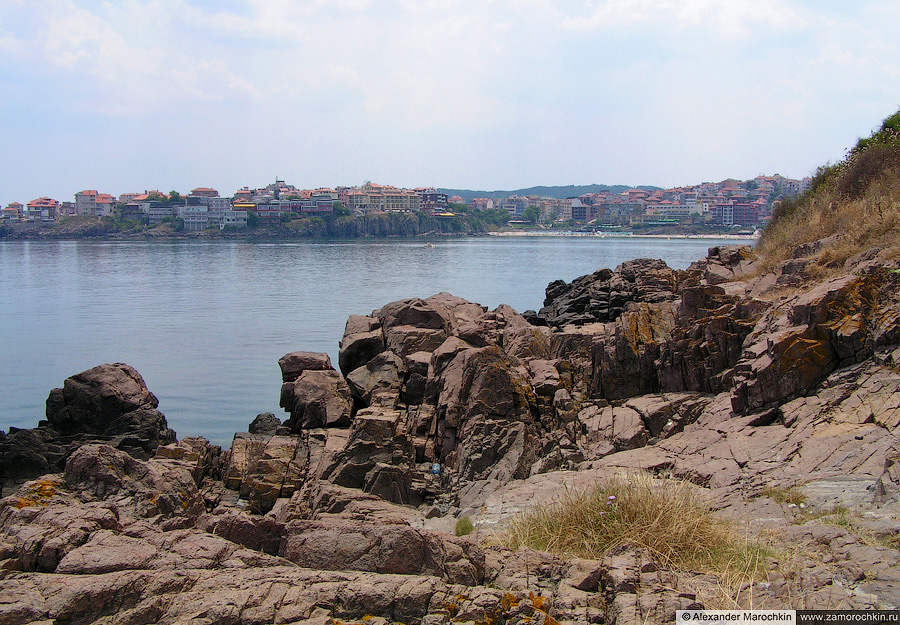 Скалистые берега старого Созополя | Rocky shores of the old town of Sozopol