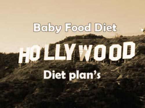 Baby Food Diet Plan Craze in Hollywood