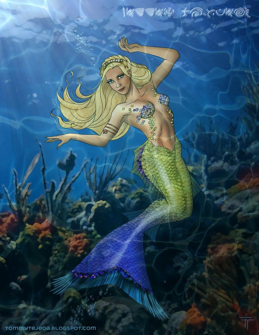Tommy Tejeda Hannah Mermaid