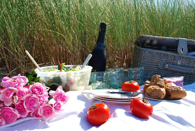 picnic at the sea. original idea for birthday party