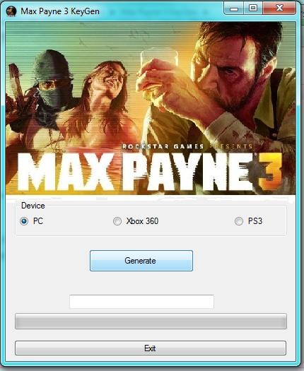 Crack Max Payne 3 and Serial Number