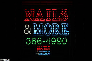 New york neon nail salon neon for 27th street salon