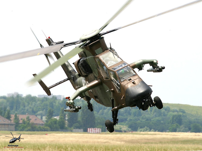 EC-665 Tiger European Attack Helicopter