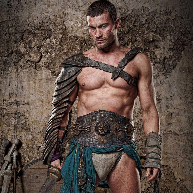 Andy Whitfield como el Spartacus Original