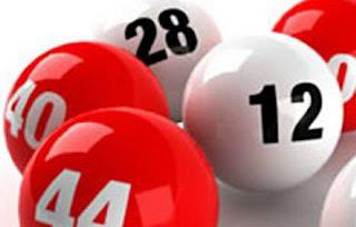 imagem bolas numeradas de bingo