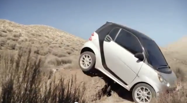 smart car not good for offroad