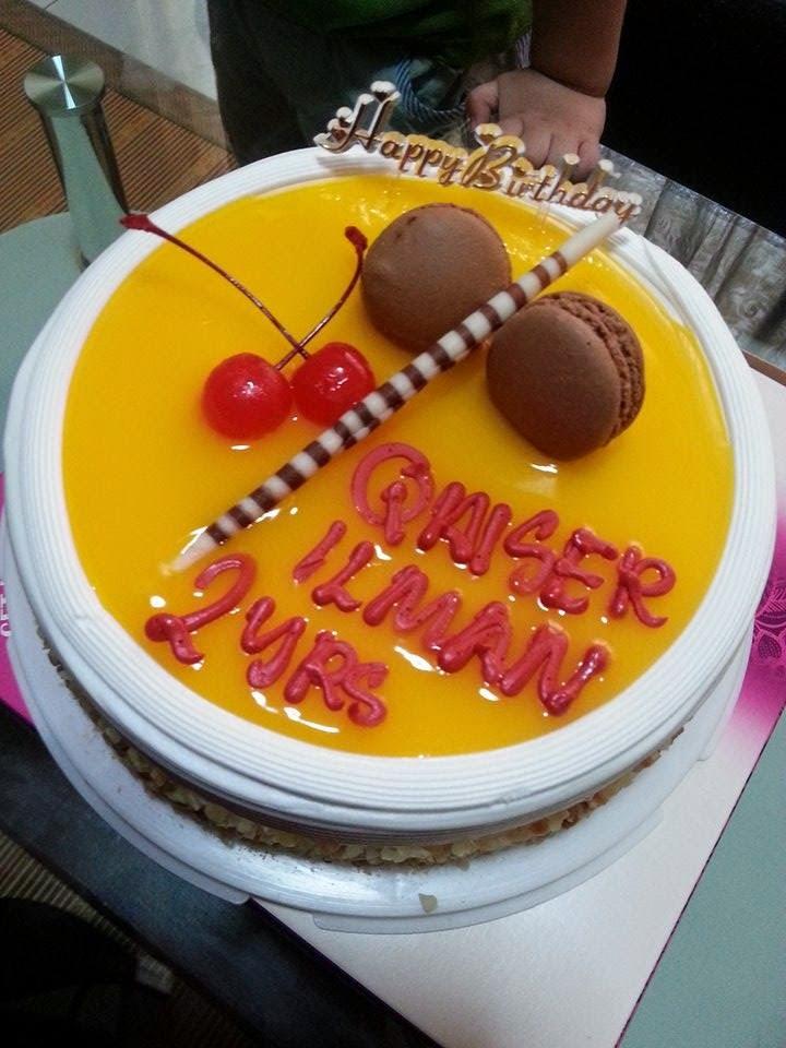 Second Birthday Surprise Merdeka Boy Qaiser ilman