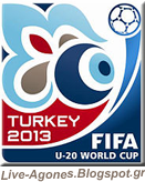Fifa U-20 World Cup Turkey 2013 Logo