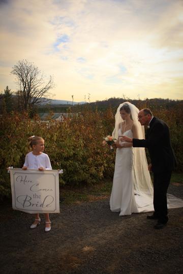 Briar Patch Wedding Ceremony Photo