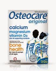 OSTEOCARE (Kalsium, Magnesium, Seng, dan Vitamin D3)