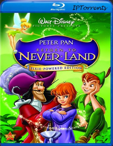 Peter Pan Return to Never Land 2002 [Hindi-Eng] Dual Audio 300mb BRRip 480p