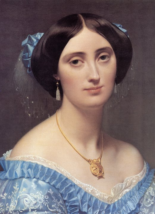 Jean Auguste Dominique Ingres 1780-1867 Jean+Auguste+Dominique+Ingres+%252810%2529