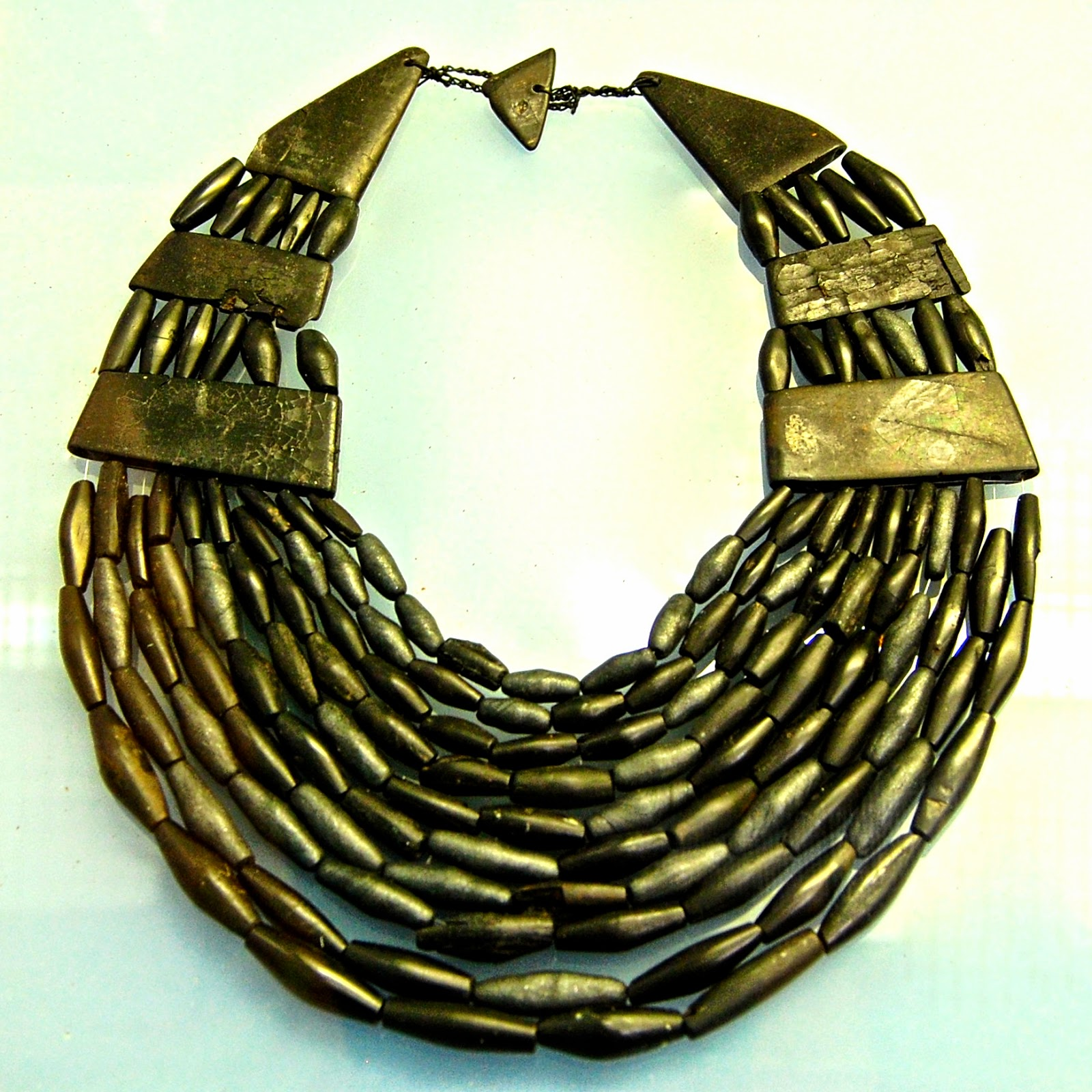 Queen of the Inch necklace in Bute Museum