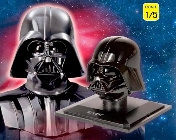 Colección cascos Star Wars - Darth Vader