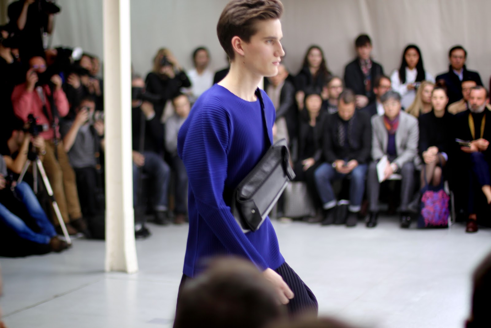Issey Miyake menswear bag
