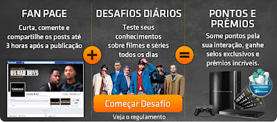 """Concurso Cultural """"Desafio Crackle"""""""