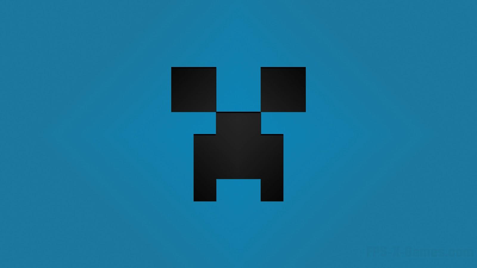 Minecraft Creeper Desktop Wallpapers Blue