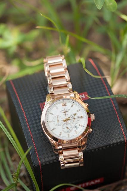 Đồng hồ đeo tay nam dây inox cao cấp giá rẻ Longines