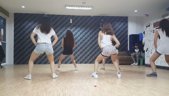 twerk it like miley video of Ella Cruz