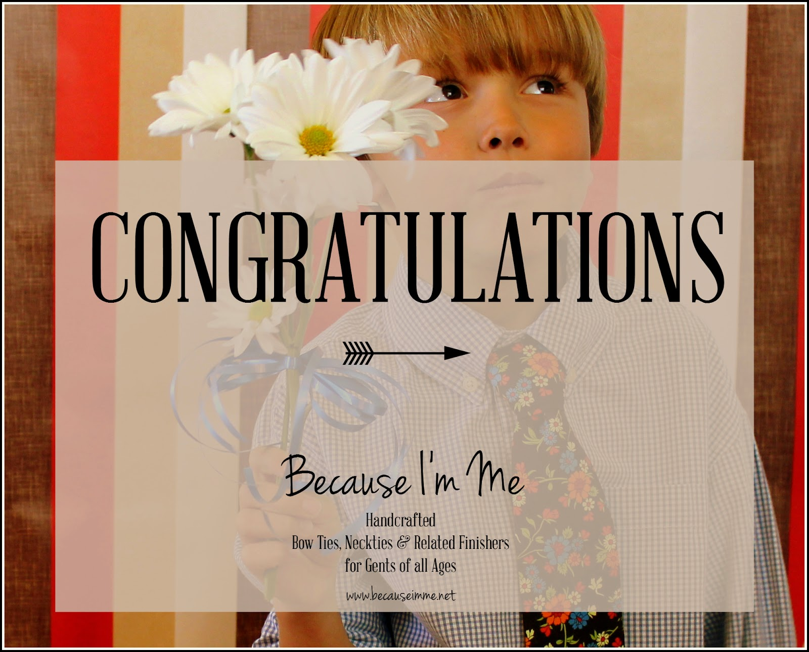 Because I'm Me giveaway winner
