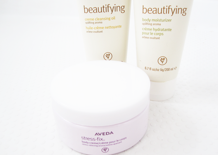 Aveda: Stress Fix Body Creme, Beautifying Creme Cleansing Oil & Beautifying Body Moisturiser review