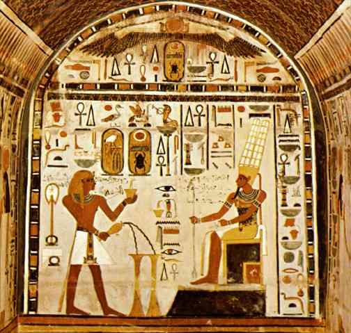 Un recuerdo de historia arte egipcio for Nas mural queens