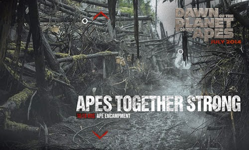 Film Dawn of the Planet of the Apes Juli 2014