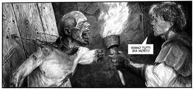 Il Regno dei Morti - Una vignetta di Mauro Belfiore tratta dal numero 1
