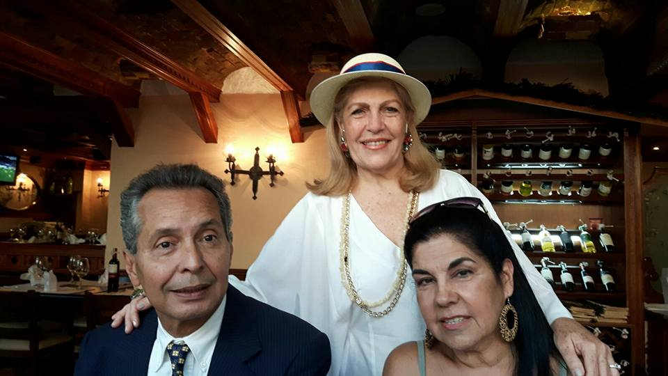 Dolores Señaris Calviño, Victor Guerrero y Gilda.
