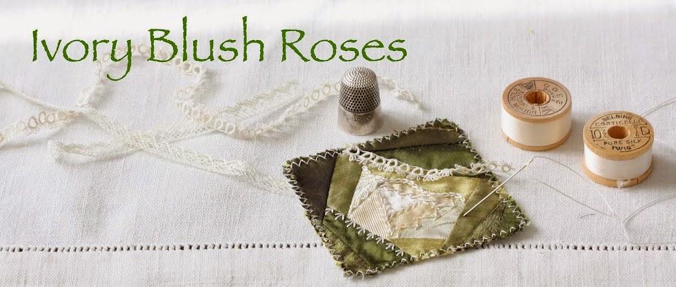 Ivory Blush Roses