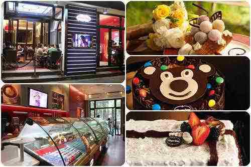 Bánh kem lạnh Häagen-Dazs - Ngọt ngào cho đêm Giáng sinh, cua hang banh, bakery shop, banh kem tuoi, banh kem lanh, diem an uong ngon